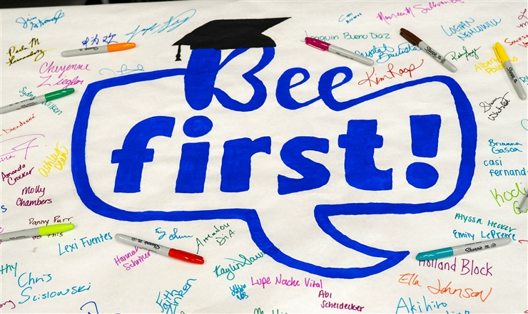Poster for Bee First event