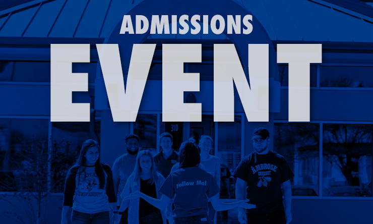 admissions event