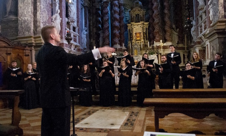 choir in italy